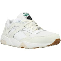 Chaussures Homme Baskets basses Puma R698 White ON White Blanc