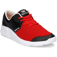 Chaussures Homme Baskets basses Supra Noiz Rouge