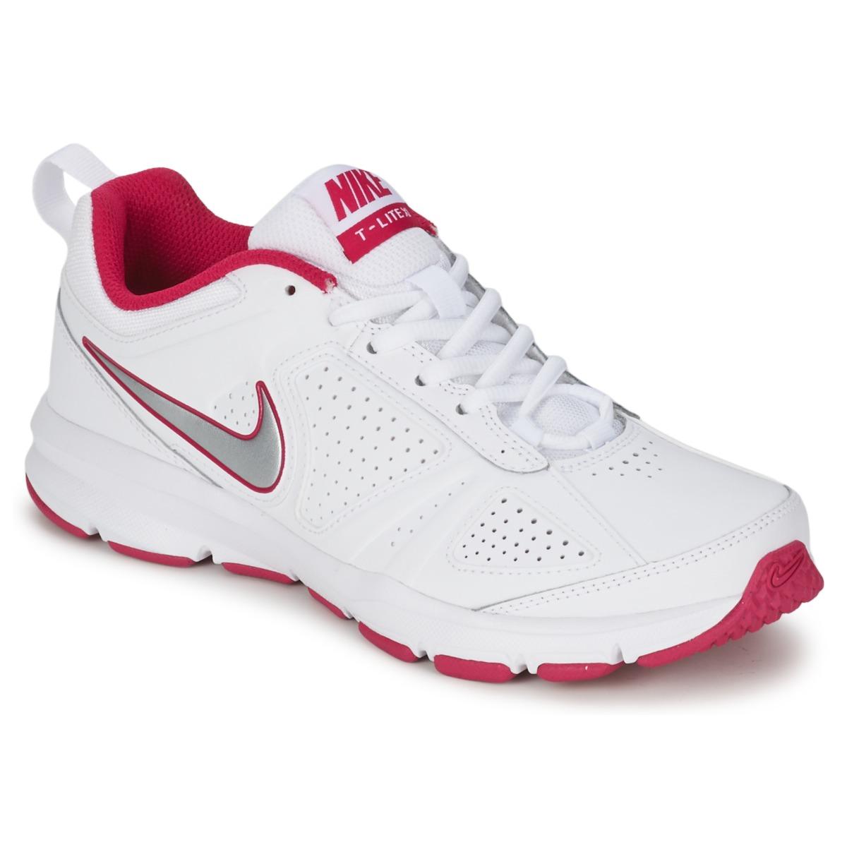 nike t lite xi blanc rose livraison gratuite avec chaussures chaussures de. Black Bedroom Furniture Sets. Home Design Ideas
