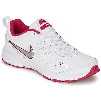 Chaussures-de-sport Nike T-LITE XI Blanc / Rose 350x350