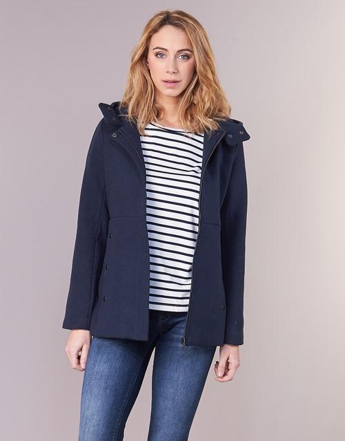 Vêtements Femme Manteaux Moony Mood FANIO Marine