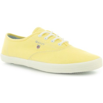 Chaussures Femme Baskets basses Gant New Haven Jaune