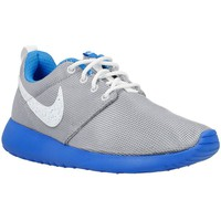 Chaussures Homme Baskets basses Nike Roshe One GS Bleu-Blanc-Gris