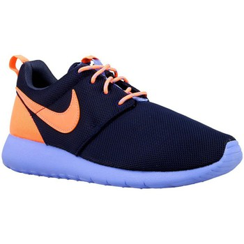 Chaussures Garçon Baskets basses Nike Roshe One GS Violet-Bleu marine-Orange
