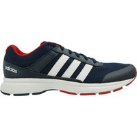 Chaussures Homme Baskets basses adidas Originals Cloudfoam VS City Blanc-Bleu marine-Rouge