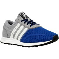 Chaussures Garçon Baskets basses adidas Originals Los Angeles K Gris-Bleu marine