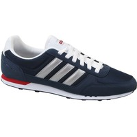 Chaussures Homme Baskets basses adidas Originals Neo City Racer Bleu marine