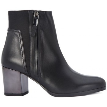Chaussures Femme Bottines Albano TRONCHETTO VITELLO Nero