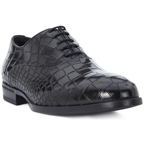 Chaussures Homme Richelieu Eveet CROCCO NERO Nero