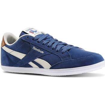 Chaussures Homme Baskets basses Reebok Sport Royal Transport Blanc-Bleu marine
