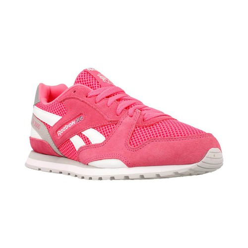 Chaussures Fille Baskets basses Reebok Sport GL 3000 rose