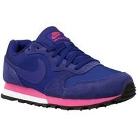 Chaussures Femme Baskets basses Nike MD Runner Bleu-Rose-Violet