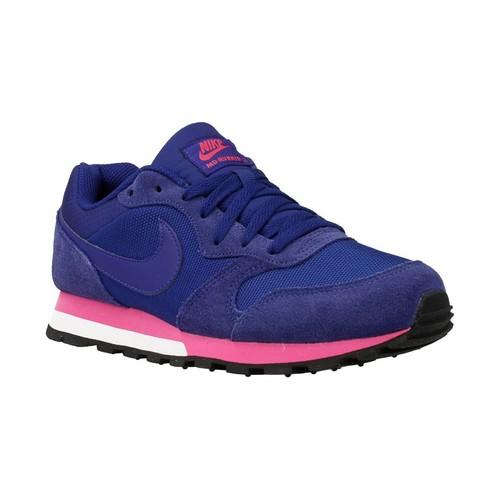Chaussures Femme Baskets basses Nike MD Runner bleu