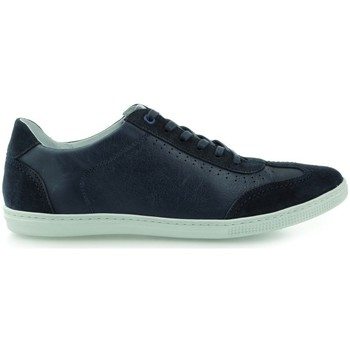 Chaussures Homme Baskets basses Gino Rossi Iten Bleu marine