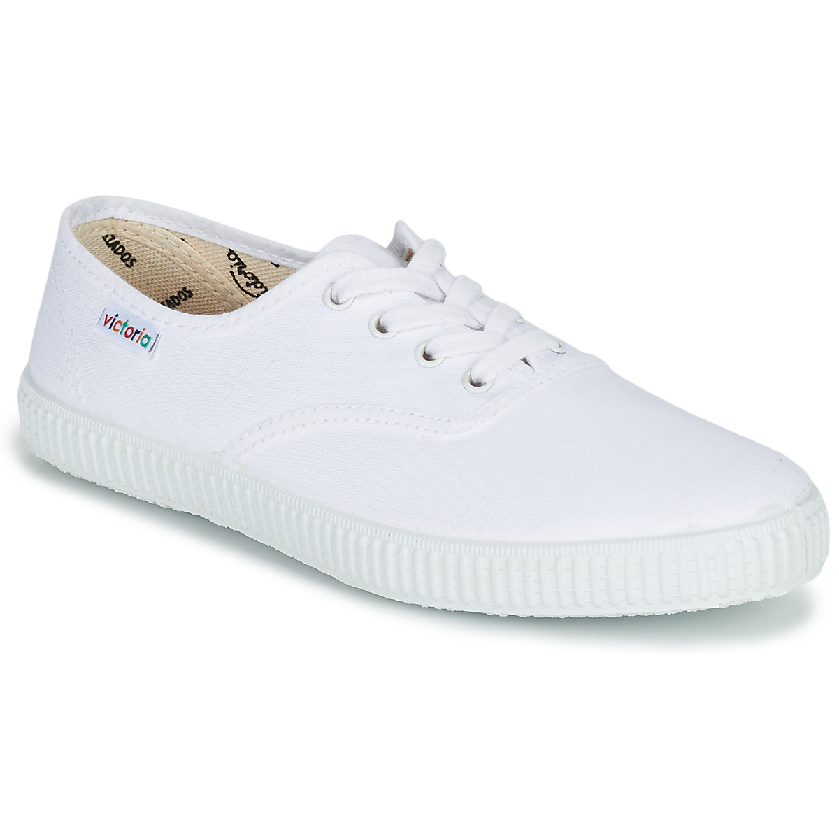 Lona Gruesa, Baskets Basses Femme, Blanc (Blanco), 41 EUVictoria