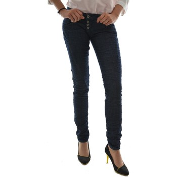 Vêtements Femme Jeans Please p68c bleu