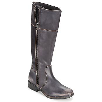 Chaussures Femme Bottes ville Esprit JONA BOOT Noir