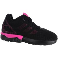 Chaussures Fille Baskets basses adidas Originals ZX Flux EL I Noir-Rose