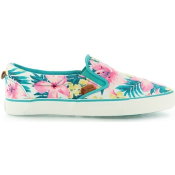 Chaussures Fille Slips on Pepe jeans Park Traveler Hawai DK Mojito Blanc
