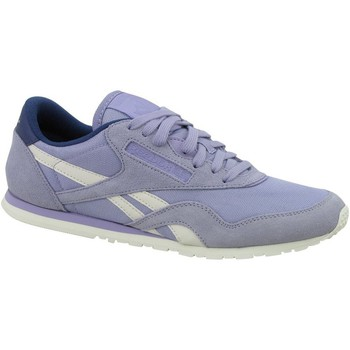 Chaussures Femme Baskets basses Reebok Sport CL Nylon Slim Core Blanc-Violet