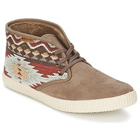 Chaussures Femme Baskets montantes Victoria SAFARI TEJIDOS ETNICOS Taupe
