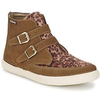 Chaussures Femme Baskets montantes Victoria 16706 Marron