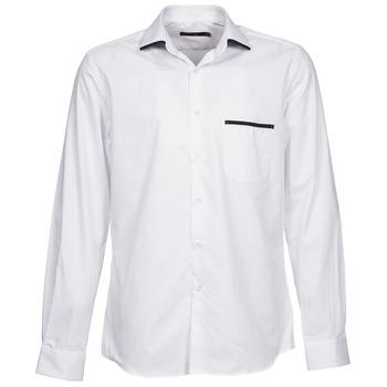 Chemises Pierre Cardin ANTOINE Blanc 350x350