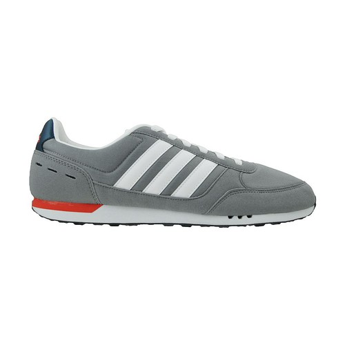 Chaussures Homme Baskets basses adidas Originals Neo City Racer Rouge-Bleu marine-Gris