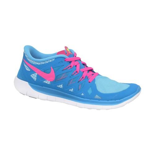 Chaussures Garçon Baskets basses Nike Free 50 GS Rose