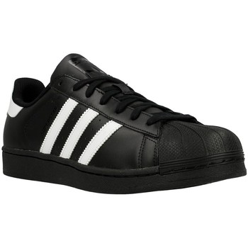Chaussures Homme Baskets basses adidas Originals Superstar Foundation Noir-Blanc