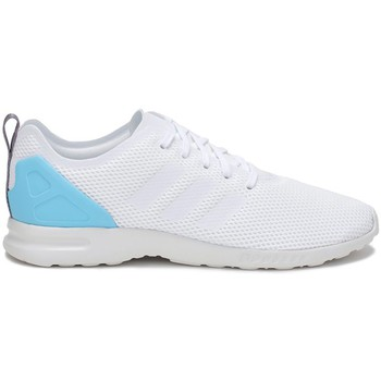 Chaussures Femme Baskets basses adidas Originals ZX Flux Adv Smooth W blanc