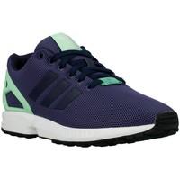 Chaussures Femme Baskets basses adidas Originals ZX Flux W Light Flash Green Vert clair-Bleu marine