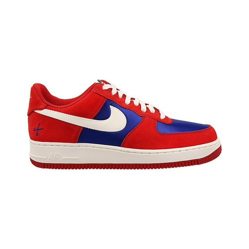Chaussures Homme Baskets basses Nike Air Force 1 Rouge-Bleu-Blanc