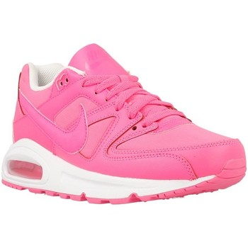 Chaussures Fille Baskets basses Nike Air Max Command GS Blanc-Rose
