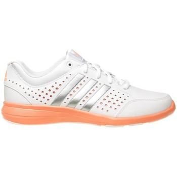 Chaussures Femme Baskets basses adidas Originals Arianna Iii Argent-Blanc-Orange