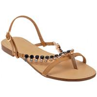 Chaussures Femme Sandales et Nu-pieds F. Milano PierresH1279Sandales Beige