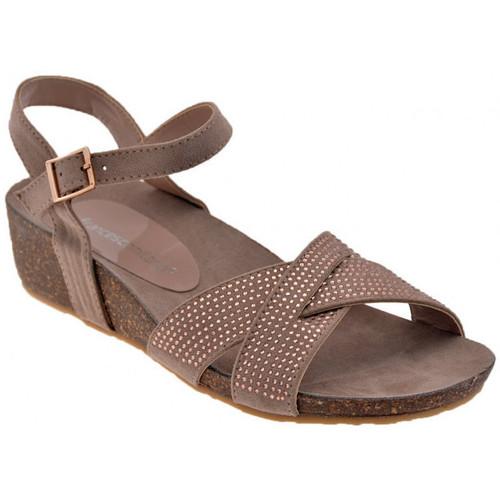 Chaussures Femme Sandales et Nu-pieds F. Milano H154 TAnatomica Sandales Gris