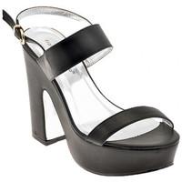 Chaussures Femme Sandales et Nu-pieds F. Milano H270PT.120Sandales Noir