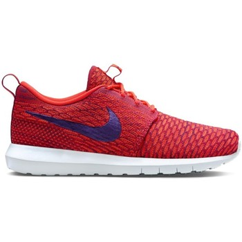 Chaussures Homme Baskets basses Nike Flyknit Rosherun Orange-Violet