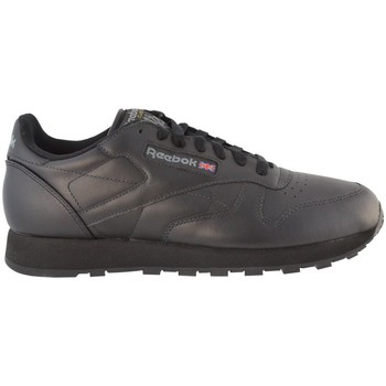Chaussures Homme Baskets basses Reebok Sport Classic Leather Gris-Noir
