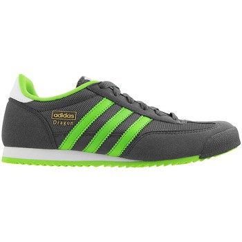 Chaussures Femme Baskets basses adidas Originals Dragon J Gris-Vert