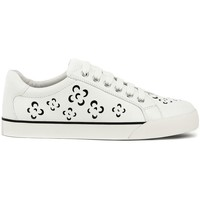 Chaussures Femme Baskets basses Geox Prudence Blanc