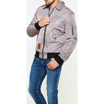 Vêtements Homme Doudounes Bombers Bomber  F-flight Taupe Homme Taupe