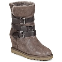 Chaussures Femme Bottines Ash YES Taupe