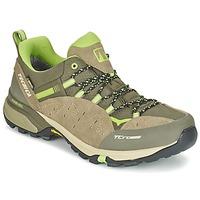 Chaussures Homme Randonnée Tecnica T-CROSS LOW GORETEX Taupe / Vert