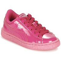 Baskets basses Puma BASKET PATENT ICED GLITTER PS