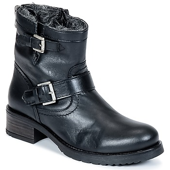Chaussures Femme Boots Buffalo ES-30493-MEXICO Noir