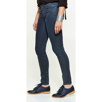 Jeans 7 for all Mankind Pantalon The Skinny Skinny Bleu Femme