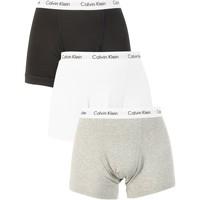 Vêtements Homme Boxers / Caleçons Calvin Klein Jeans Homme 3 Trunks Paquet, Multicolore multicolore