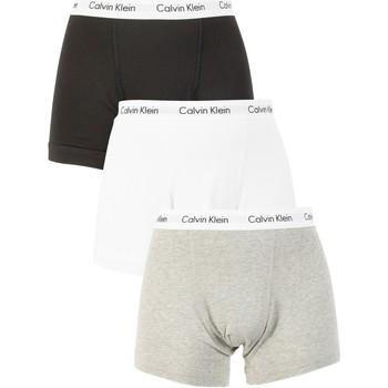 Boxers / caleçons calvin klein jeans homme 3 trunks paquet, multicolore